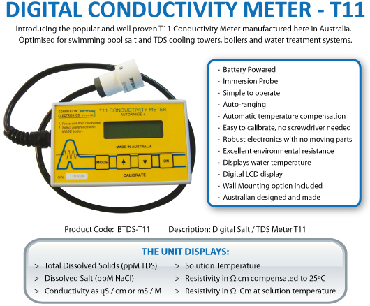 Digital Conductivity Meter T11