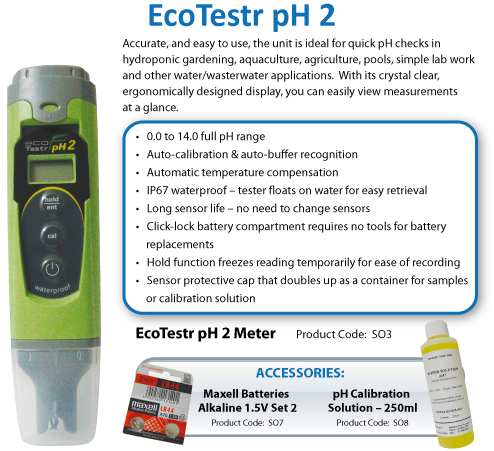 EcoTestr pH2